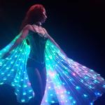 LED Isis Wings Bohemia Show