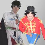 Mini Elvis vs. Mini Jackson